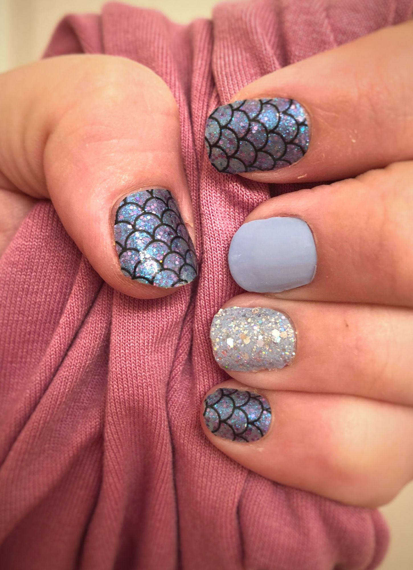 Color street nails Atlantis | Color Street in 2019 | Color ...