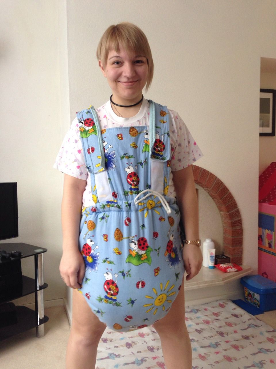 Frilly Sissy Tumblr in waddle suit :)   soooo cute   pinterest   sissy maid, pyjamas and