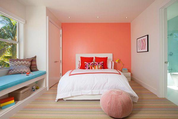 Color Coral En Paredes 30 Ideas Para Pintar La Casa Con Color Coral Mil Ideas De Decoracion Decoracion De Paredes Dormitorio Pintar Dormitorio Juvenil Decorar Casas Pequenas