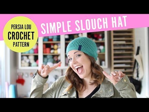 This cute and simple crochet hat pattern works up quickly 16a44ad5896