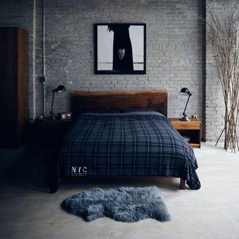 Blog Archive 57 Stylish Masculine Bedroom Design Ideas Ide Kamar Tidur Desain Interior Desain Furnitur