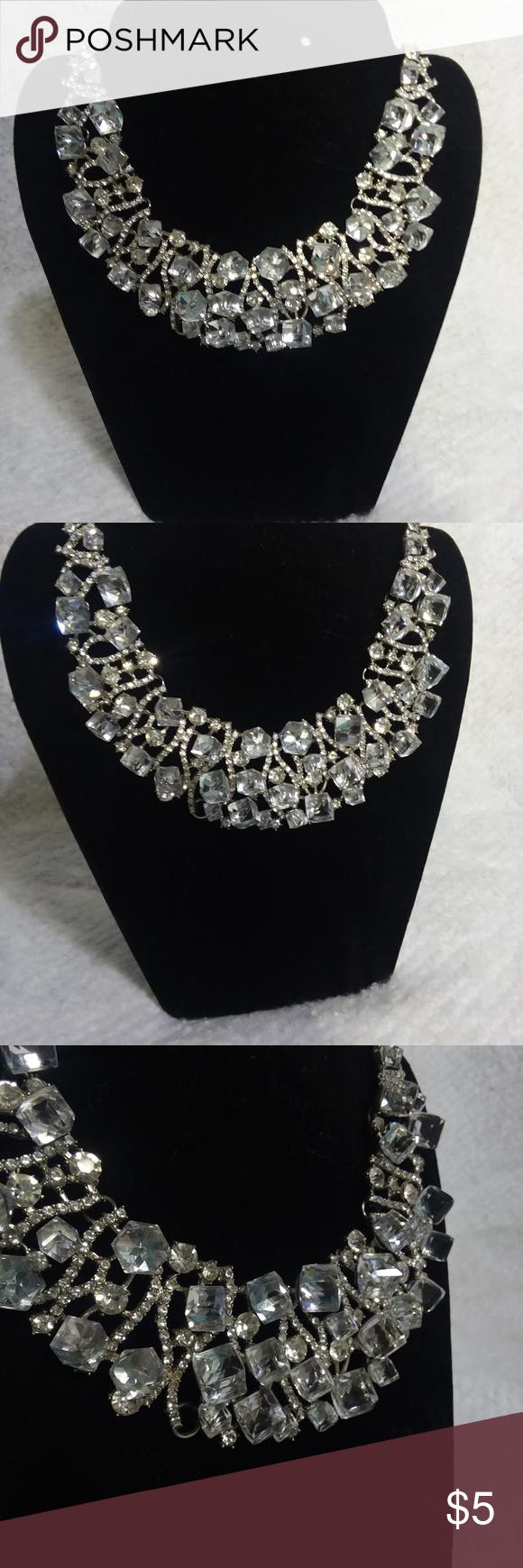 5/25 chunky bling necklace Bling necklace, Bling