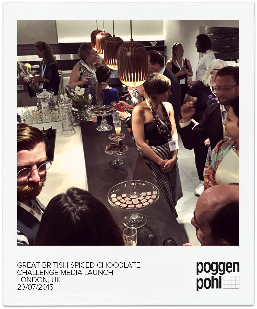Great British Spiced Chocolate Challenge Media Launch