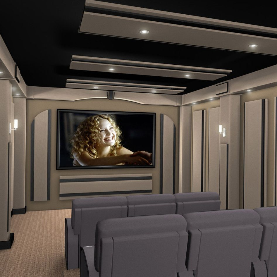 Fascinating Modern Home Theater Design With Cool Decor Style Amazing Modern Home Theater Design Idea Home Theater Decor Home Theater Rooms Home Theater Design