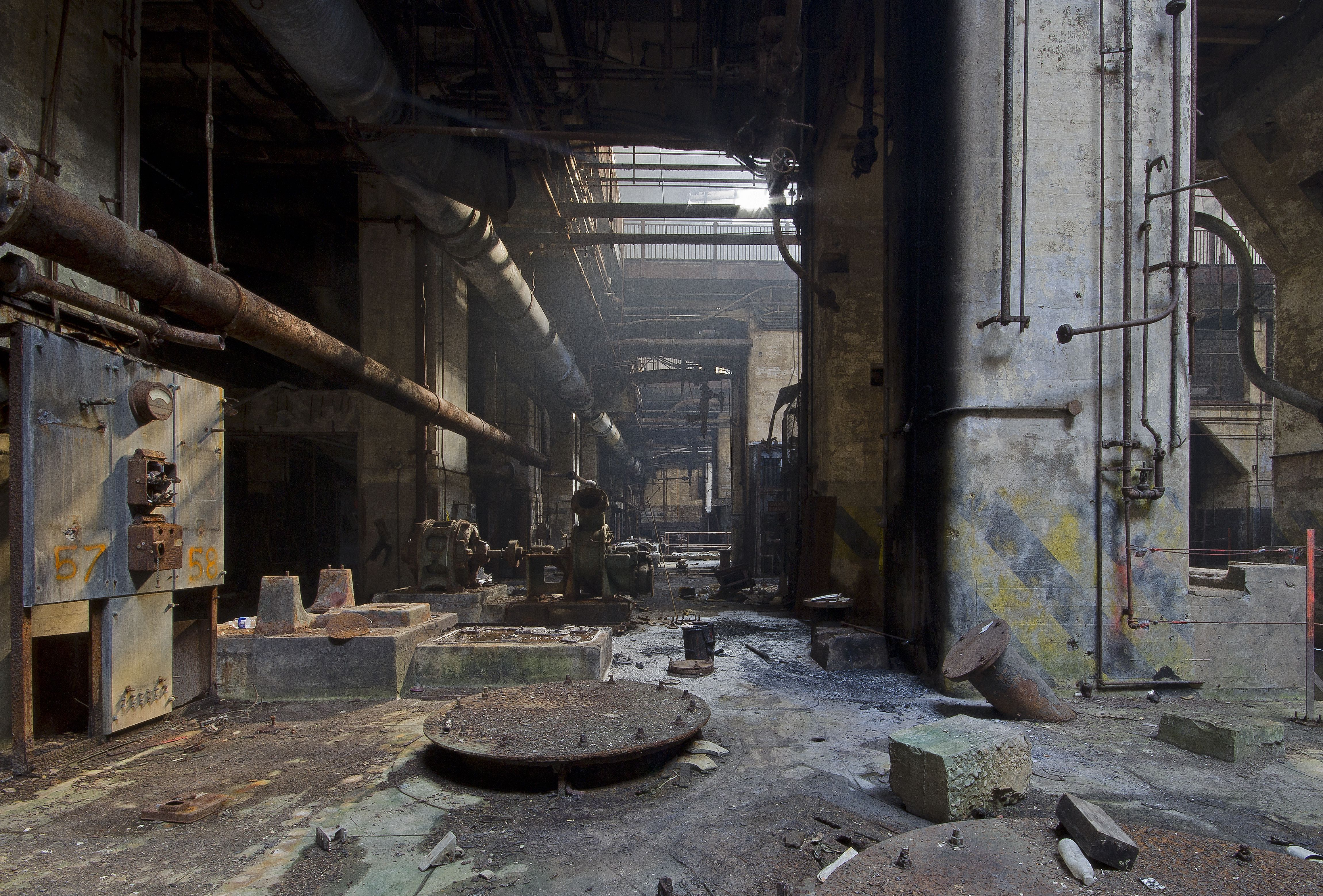 abandoned warehouse building - Google Search | Factory ...  abandoned wareh...