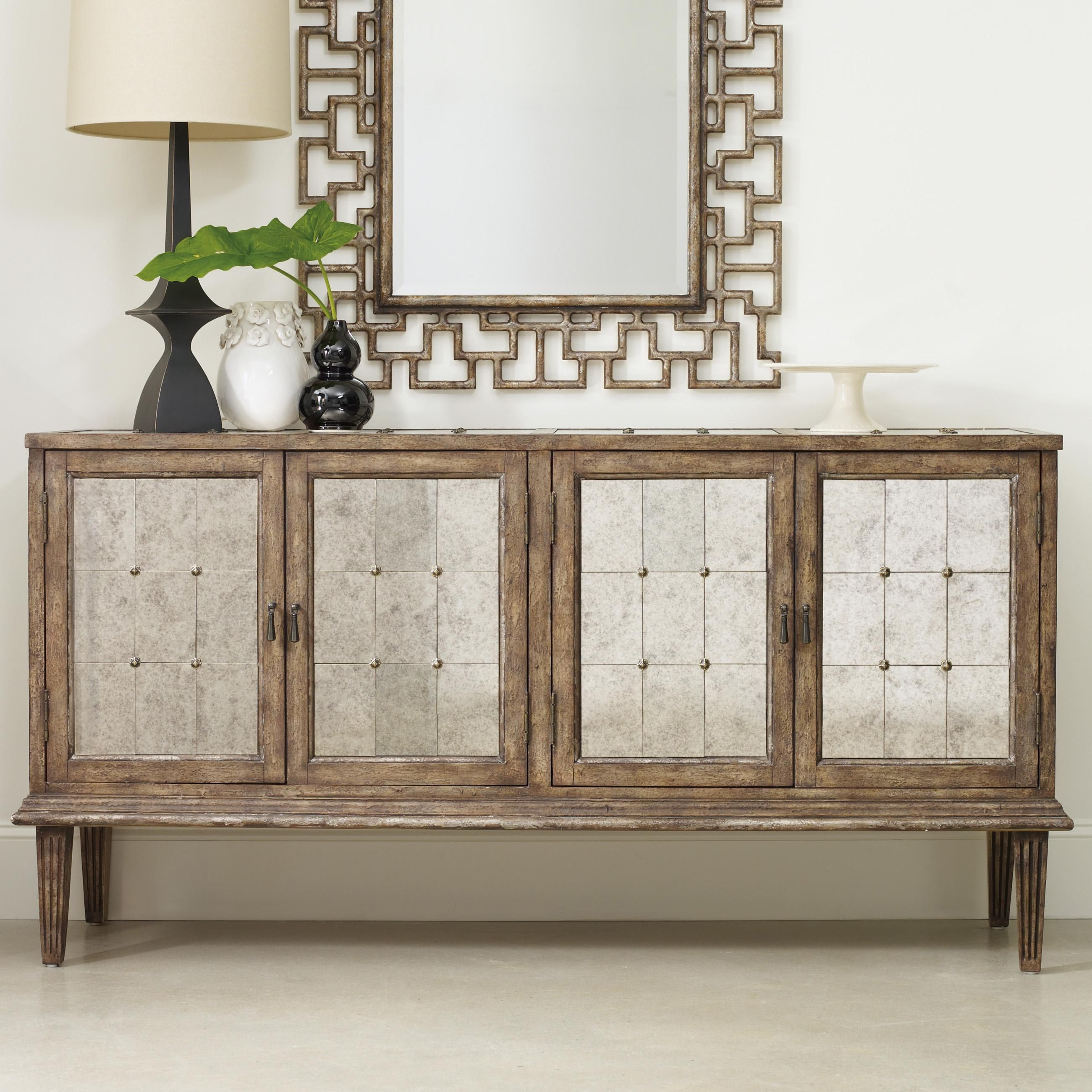 Marvelous Mélange DeVera Mirrored Console By Hooker Furniture