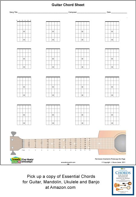 Guitar Blank Chord Boxes Guitar Stuff Pinterest Guitars