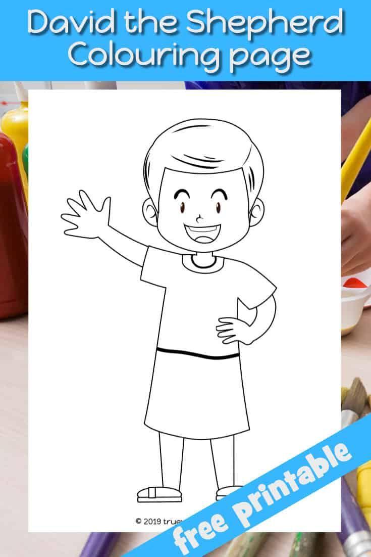 Samuel Anoints David - Preschool Bible lesson in 2020 ...
