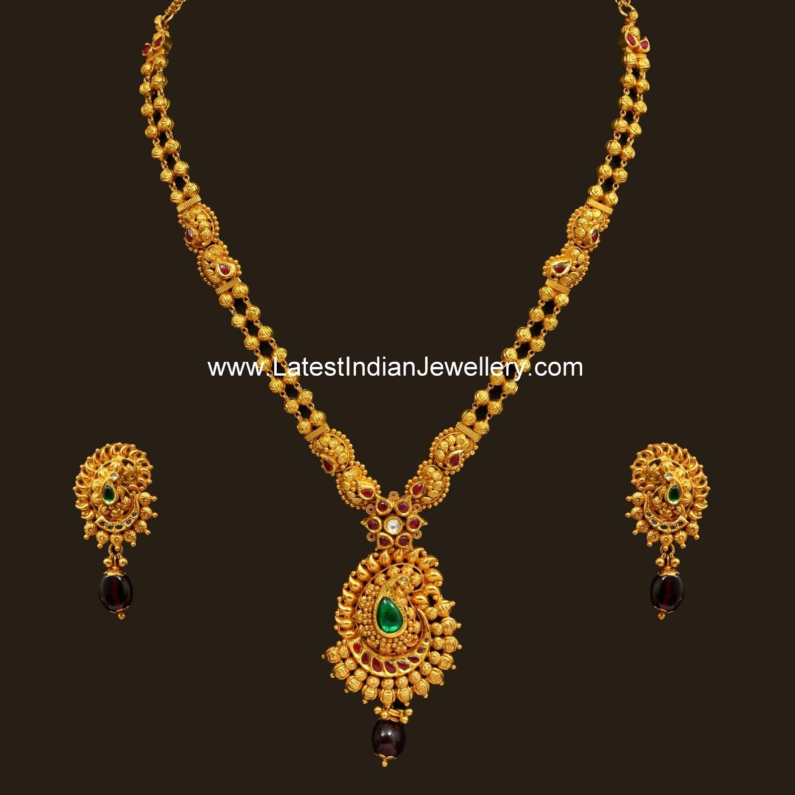 lakh design simple pin in jewellery indian diamond necklace latest designs