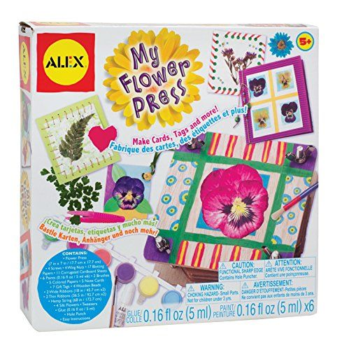 Kids Flower Press Kits Alex Toys Craft My Flower Press To View Further For This Item Visit The Image Link Flower Press Kit Alex Toys Pressed Flowers