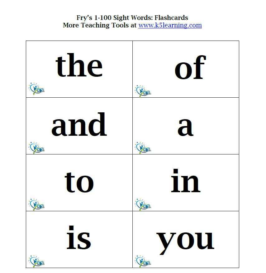 1000 sight words free printable without membership yay