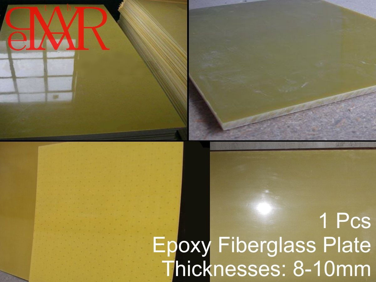 Fiberglass Board Plate Sheet G10 Fr4 Epoxy Yellow