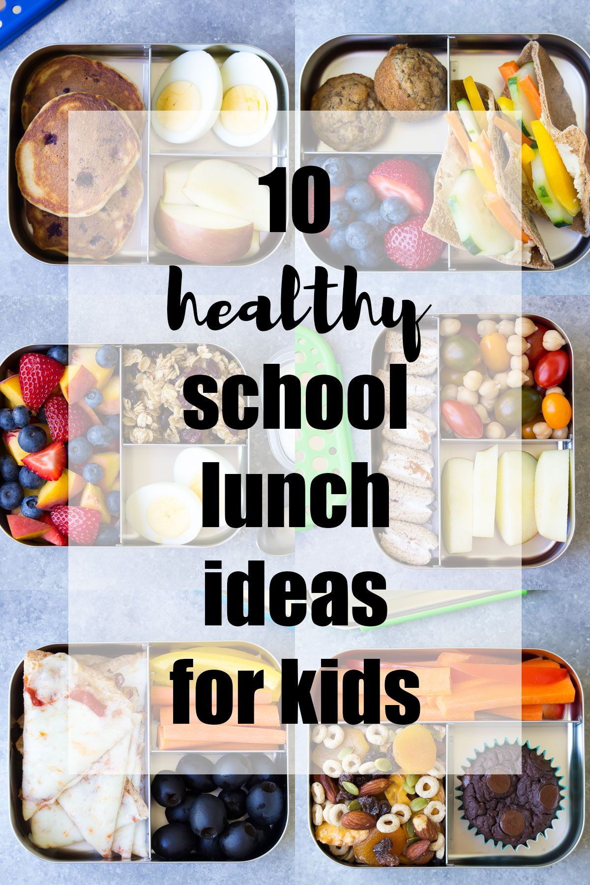 10 Healthy Lunch Ideas For Kids Bento Box Lunchbox To Pack School Home Or Even Yourself Work Make Packing Lunches Quick And Easy