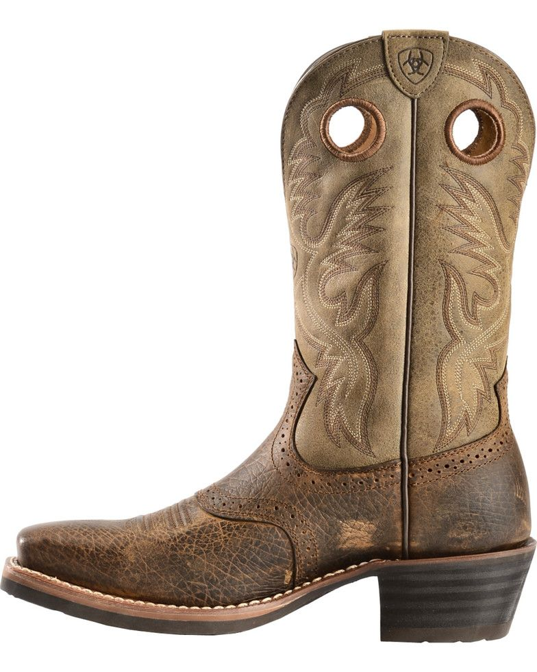 79e24f3718b Ariat Heritage Rough Stock Boots - Square Toe in 2019 | Cowboy boots ...