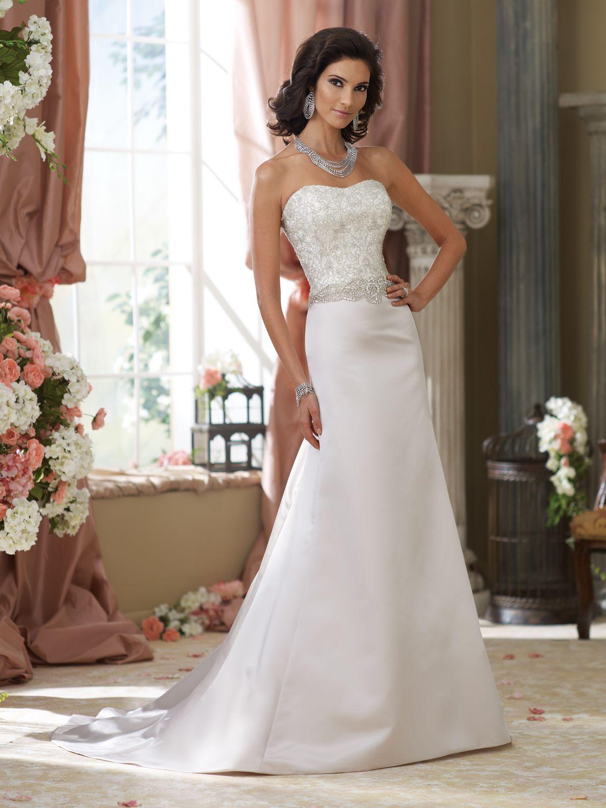 Wedding Dresses 2014 Collection Strapless handbeaded
