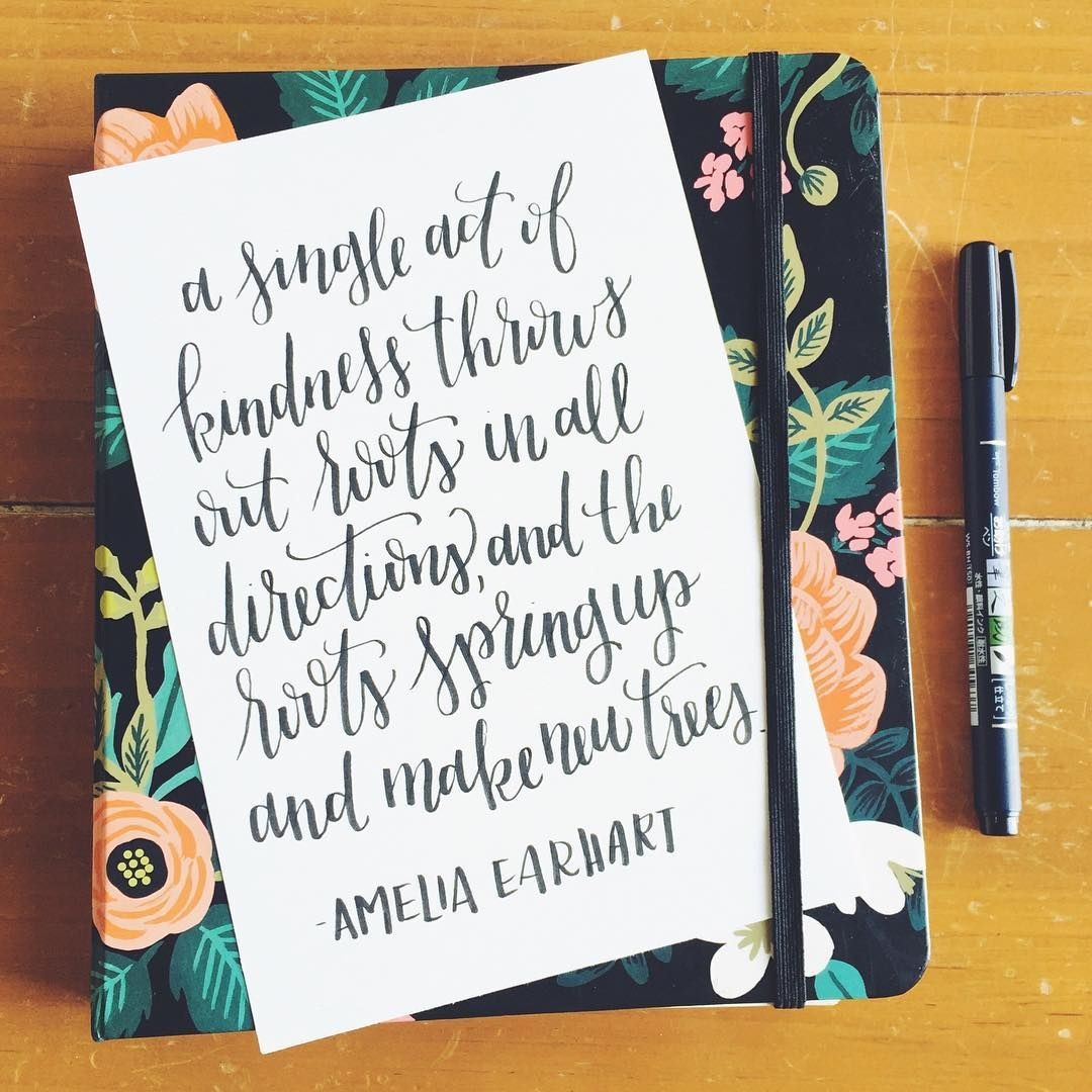 We Love This Beautiful Quote By Tombow Brand Ambassador