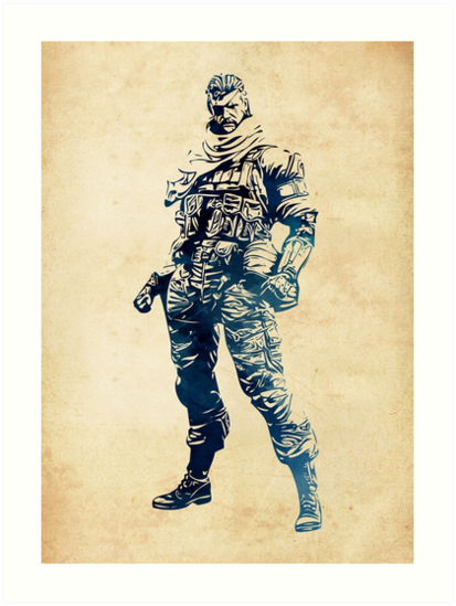 Venom Snake Big Boss Metal Gear Solid By Naumovski More Artworks On Https Linktr Ee Naumovski Dusan Metal Gear Big Boss Metal Gear Metal Gear Solid