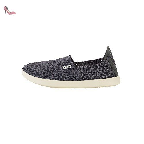 Dude Women's Shoes Eu37 Black Last Simple E Slip Uk4 On qqH7r5n1