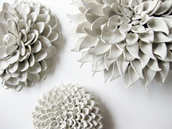 Set Of Three Large Sized Flowers Of Your Choice Walls