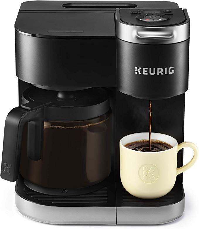Keurig KDuo Coffee Maker, Single Serve and 12