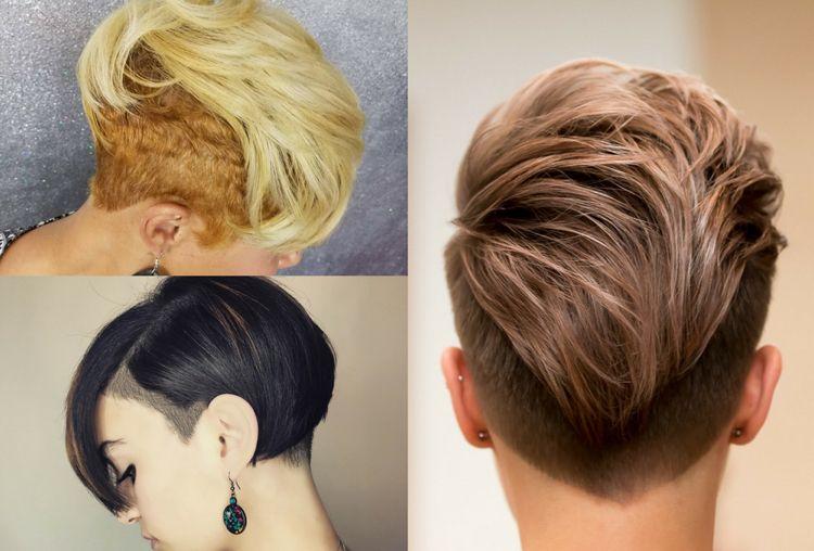 Frisuren Feines Haar Frauen Kurz Undercut Irokesenschnitt Frisuren Feines Haar Kurzhaarschnitt Fur Feines Haar Feines Haar