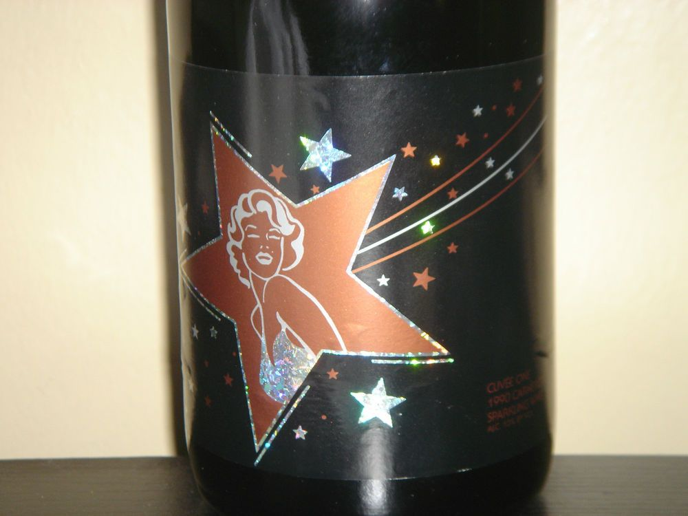 Marilyn Monroe Cuvee One 1990 Rare Carneros Sparkling Wine Full MINT New Sealed