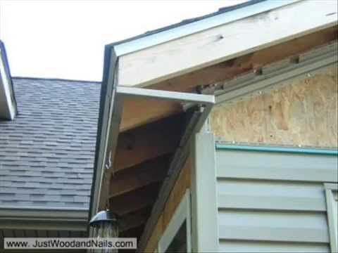 How To Build A Soffit Box Vinyl Soffit Diy Roofing House Paint Exterior