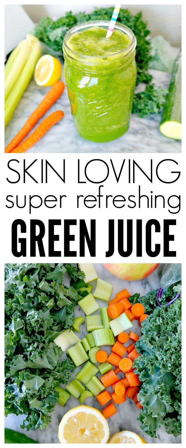recipe: green juice recipe for skin [34]