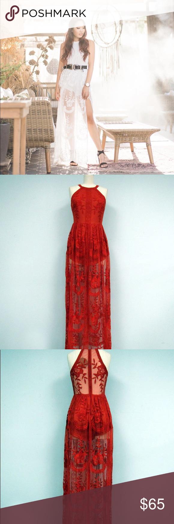 The jetset diaries majestic lace maxi dress