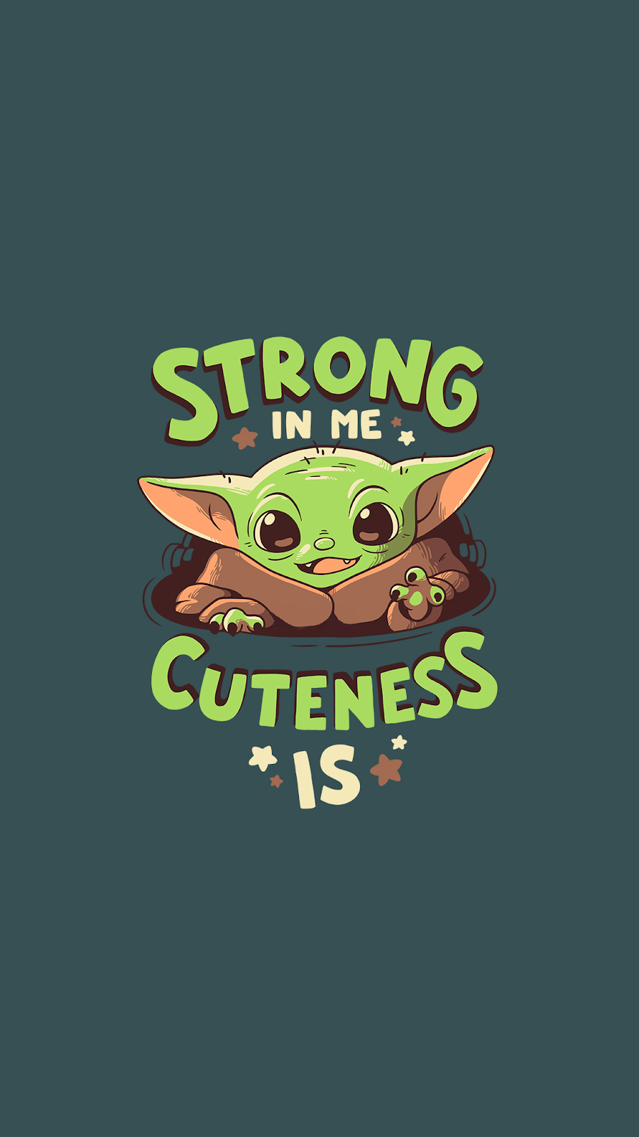 The Best Baby Yoda Wallpapers For You Iphone Or Android Device Take A Look You Ll Like For Sure In 2020 Yoda Wallpaper Star Wars Wallpaper Star Wars Wallpaper Iphone