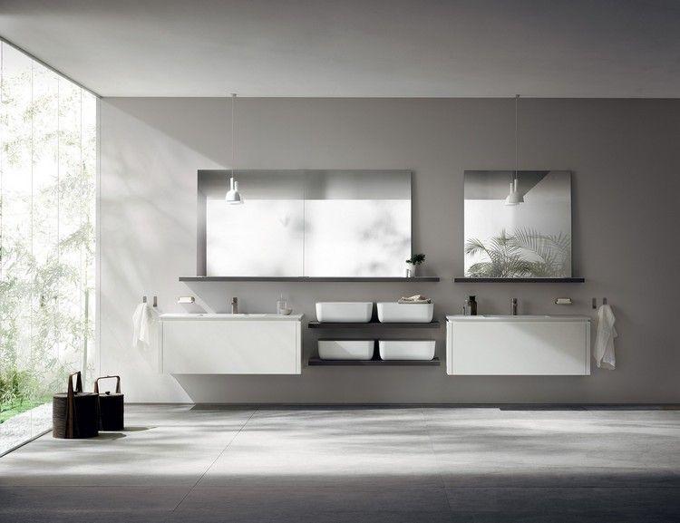 Badezimmermöbel Schwarz ~ Design handwaschbecken badezimmer schwarz schick accessoires