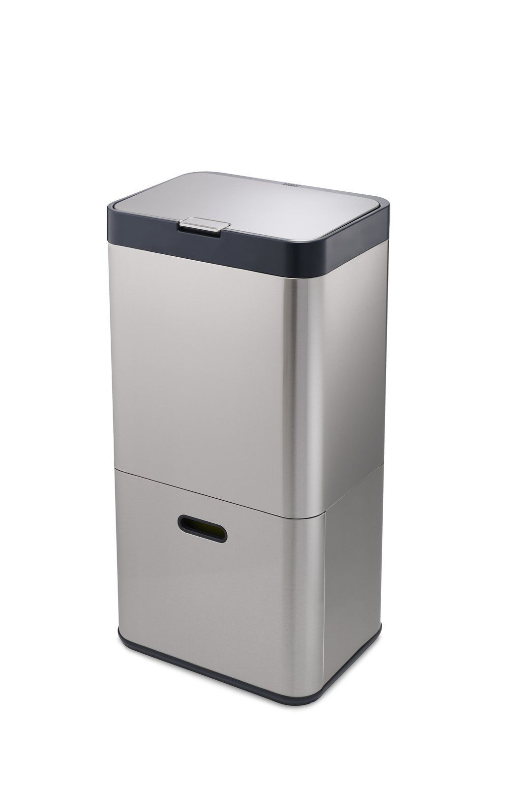 Intelligent Waste 15.9-Gal. Opening Mechanism Multi-Compartment Trash and Recycling Bin