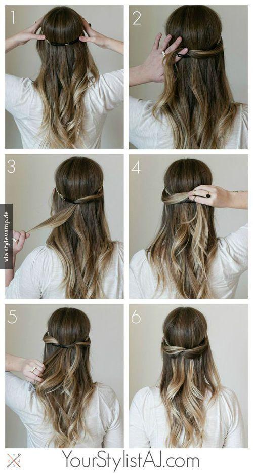 Verdrehte Strahnen 3 Frisuren Flechten Lange Haare Und Mittellange Haare Frisuren Flechten