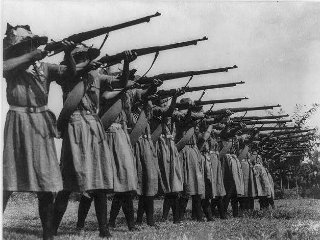 Women S Battalion Second Sino Japanese War History Military History War