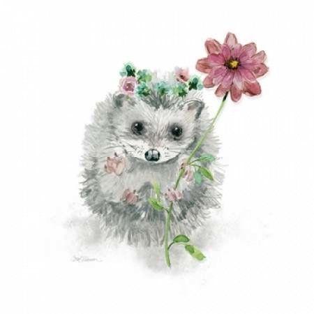 Garden Critter Canvas Art - Carol Robinson ()