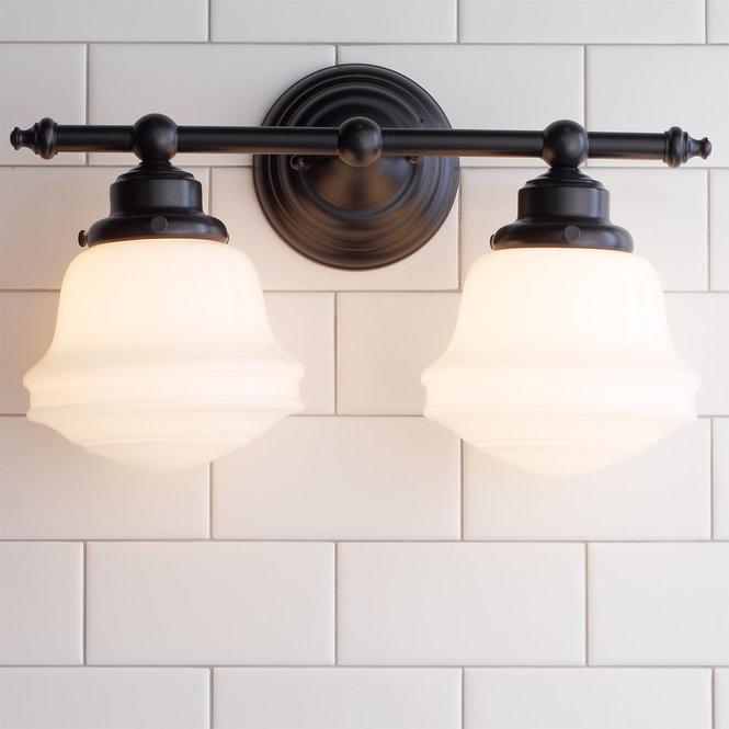 Photo of Milchglas Bad Licht – 2 Licht