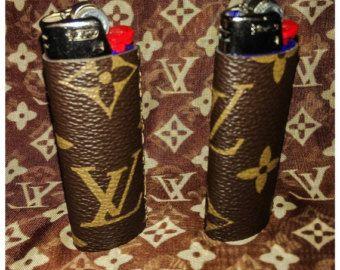 louis vuitton lighter. louis vuitton brown monogram lighter sleeve includes o