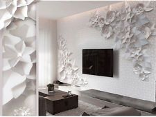 3d обои спальни настенная рулон современная роскошь выбитый цветы