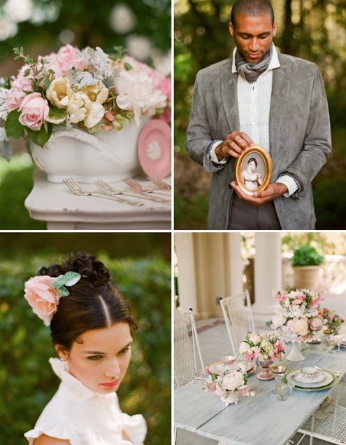 Now Pride and Prejudice has inspired some of my favorite wedding eye candy! Check out some of the gorgeous shots by Lisa Lefkowitz, styled by Anne Sage, ...