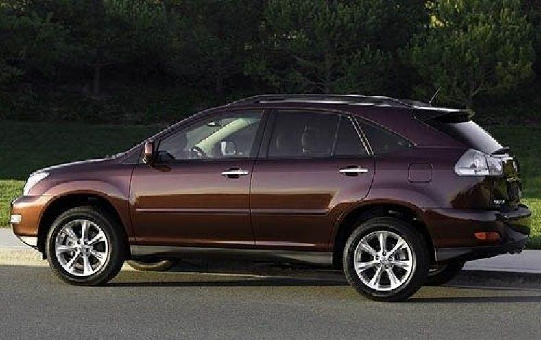 Tires for 2007 lexus rx350