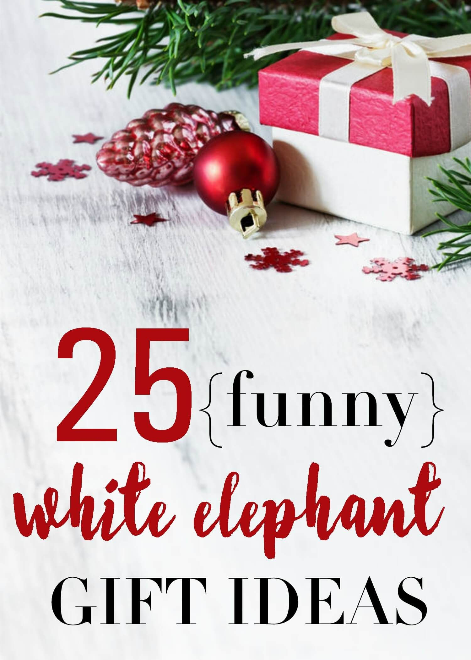 Funny White Elephant Gift Ideas 25 Christmas Gag Gifts