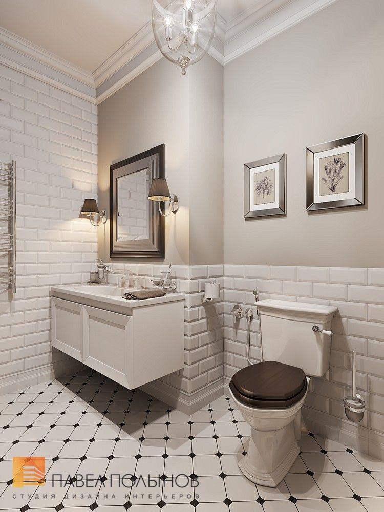 Дизайн ванной комнаты в стиле американской неоклассики ...