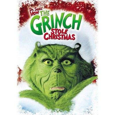How The Grinch Stole Christmas 2021 Dvd Cover How The Grinch Stole Christmas Dvd Dr Seuss In 2021 Christmas Dvd Grinch Grinch Stole Christmas