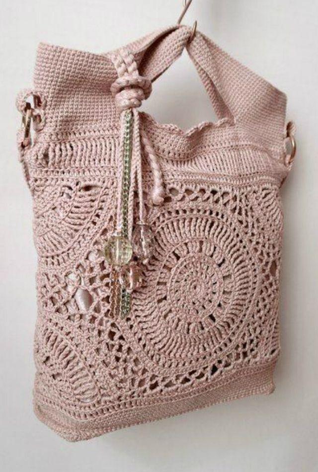 Como Fazer Bolsa de Crochê: Passo a Passo +37 Fotos