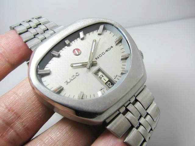 Vintage Rado Ncc 404 Swiss Made Gents Automatic Swiss Made Wrist Watch Rado