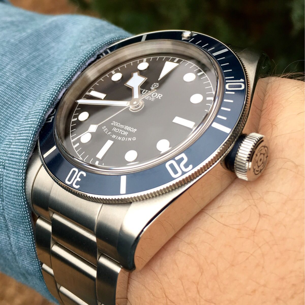 Tudor Black Bay Blue | Watches in 2019 | Watches, Tudor ...