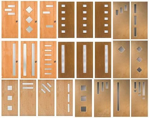 Doors galore - 8 places to find midcentury modern entry doors + DIY tips  sc 1 st  Pinterest : doors galore - pezcame.com
