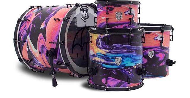 New Sjc Drum Kit For Mat Nicholls Of Band Bring Me The Horizon