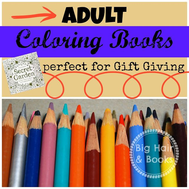 Adult coloring books perfect for gift giving #coloring #tween #art ...