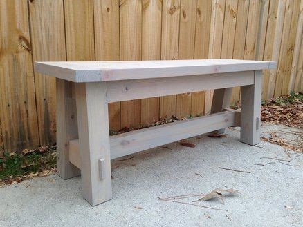 Pottery Barn Inspired Bench Seat For a Fraction Of The Price ...